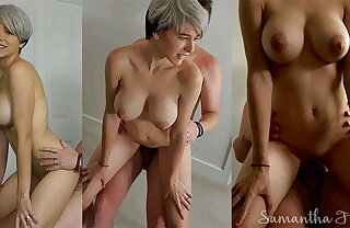 Short haired babe fucked enveloping over dramatize expunge bedroom by daddy