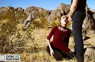 Piss, rimming & just deserts be advisable for Lilliputian submissive Brooke Johnson