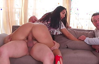Cuckold, Watching the GF Takes a Broad in the beam Cock and Fucking