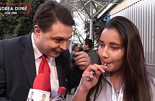 Strange pic of a mexican girl with Andrea Dipre