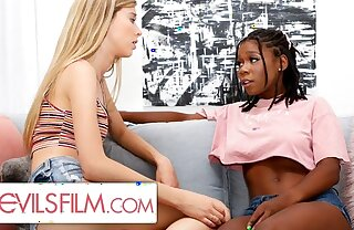 Haley Reed is Comforted By The brush Sexy Lesbian Best Side