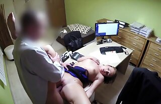 LOAN4K. Teen naive chick gets fucked on burnish apply desk