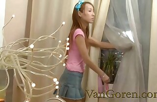 creampie anal with skinny asian girl
