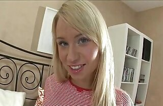 Blonde Russian Teen Craves Anal