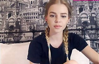 19 Year Old Teen Shows Her Perfect Bowels On Webcam Part 2
