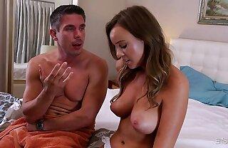 Alexis Adams wants nigh enjoyment from her boss big dick