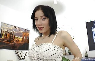 FirstAnalQuest.com - ANAL SEX POSITIONS EXPLORED WITH BIG Jugs RUSSIAN Explicit