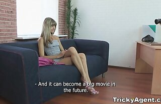Tricky Intermediary - Fake blond unshaded Gina Gerson is hot and to fuck teen porn