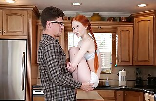 DON'T FUCK MY DAUGHTER - Petite Redhead Teen Dolly Coach Fucks Her Big Dick Tutor Bruce Occupation